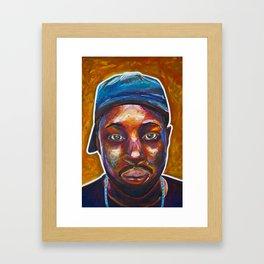 4 Dilla Framed Art Print