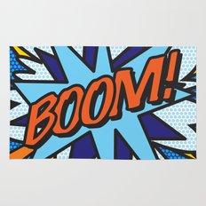 Comic Book BOOM! Rug