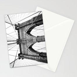 new york #3 - Brooklyn Bridge Stationery Cards