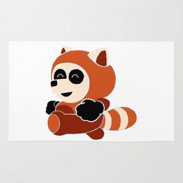 Panda In A Panda Rug