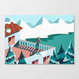 Magnificent Loneliness Canvas Print