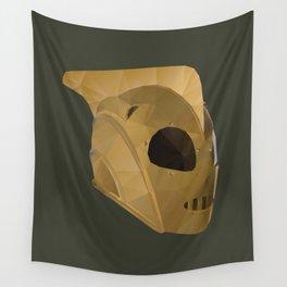 Rocketeer Helmet polygon art Wall Tapestry