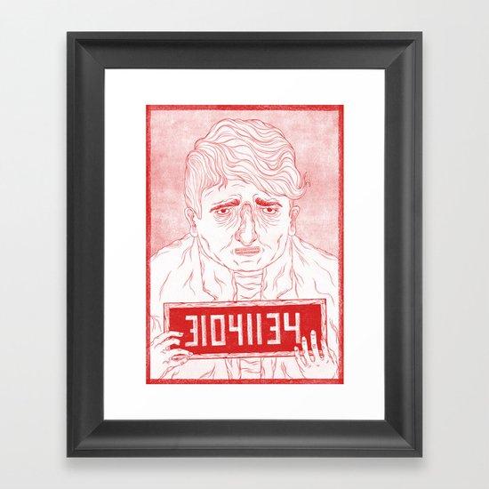 The Poor Framed Art Print