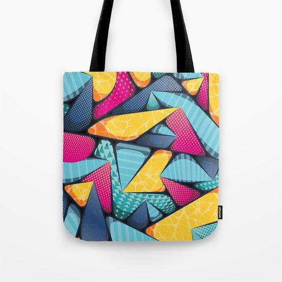 SUPER-MIA-POP • Portrait Detail Tote Bag