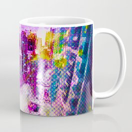 Retro Comic City Coffee Mug