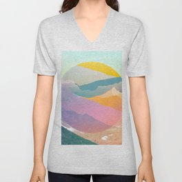 They see sphere rollin Unisex V-Neck