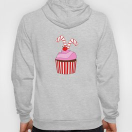 Cupcakes And Candy Canes Hoody