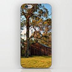 Rural Shed iPhone & iPod Skin