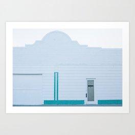 Marfa Minimalism I Art Print