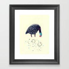 Fowl of Stars Framed Art Print
