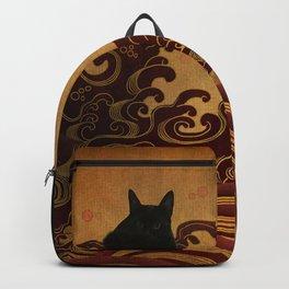 Japanese cat-82 Backpack