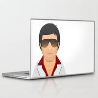 montana Laptop & iPad Skins featuring Tony Montana by Capitoni