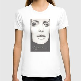 the lovely angelina... T-shirt
