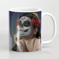 skulls Mugs featuring Skulls by Joifish