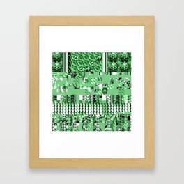 PalletGlitch Framed Art Print
