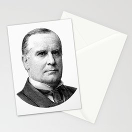 President McKinley Graphic Stationery Cards