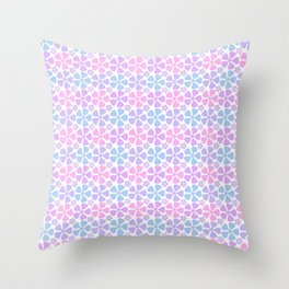Flower Garden c2 Throw Pillow