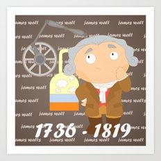 James Watt Art Print