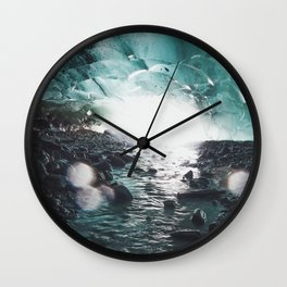 Fairy Ice Cave Wall Clock