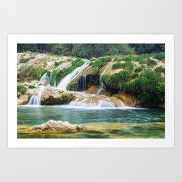 Landscape. Art Print
