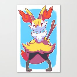 Braixen Canvas Print
