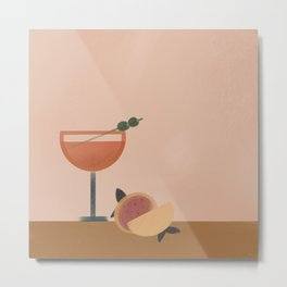 Let's have a drink Metal Print