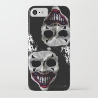 psycho iPhone & iPod Cases featuring psycho by arTistn