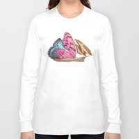 voyage Long Sleeve T-shirts featuring The Voyage (option) by Eric Fan
