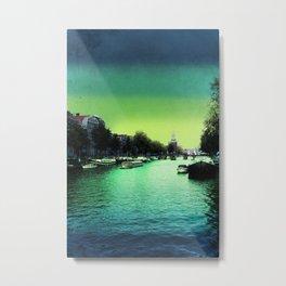 Amsterdam Palette Metal Print