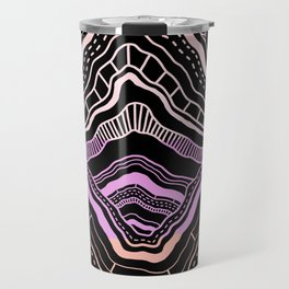 Neon Mountain I Travel Mug