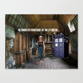 The Doctor and the Empty Organ Room Canvas Print