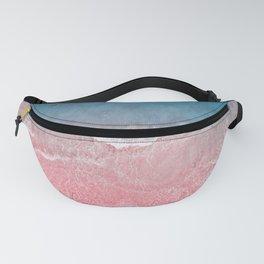 Bahamas pink blue Fanny Pack