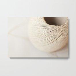 Ball of twine abstract closeup Metal Print