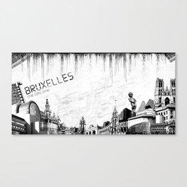 Bruxelles Canvas Print