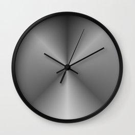 black extract Wall Clock