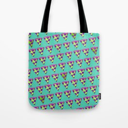 GOOPY GREEN PIZZA Tote Bag