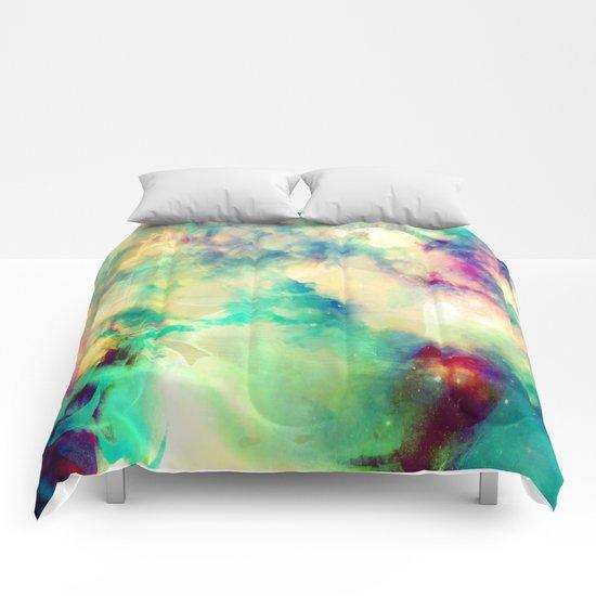 Fume Color Splash 02 Comforters
