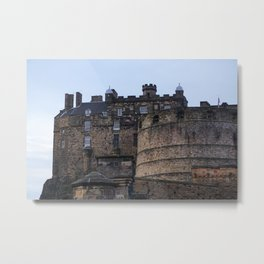 Edinburgh Castle Photograph Metal Print