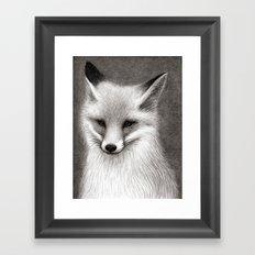 Inari the Fox Framed Art Print
