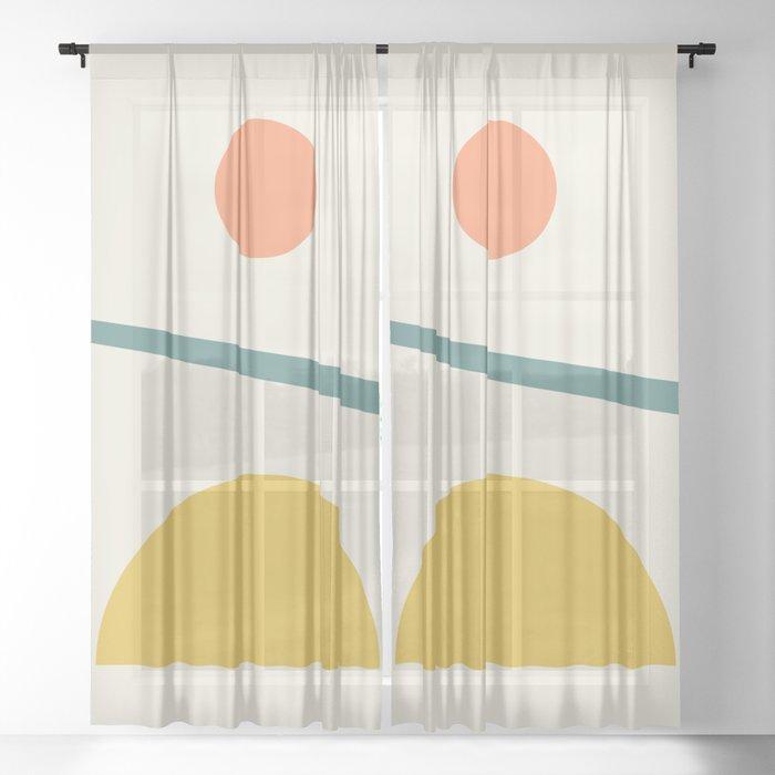 Sunrise / Sunset Sheer Curtain