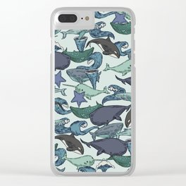 Very Whale! Clear iPhone Case