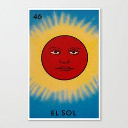 El Sol Canvas Print