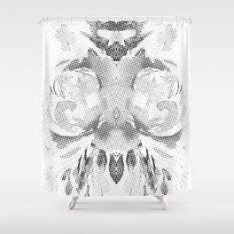 queen b Shower Curtain