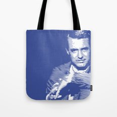 Cary Grant Blue Tote Bag