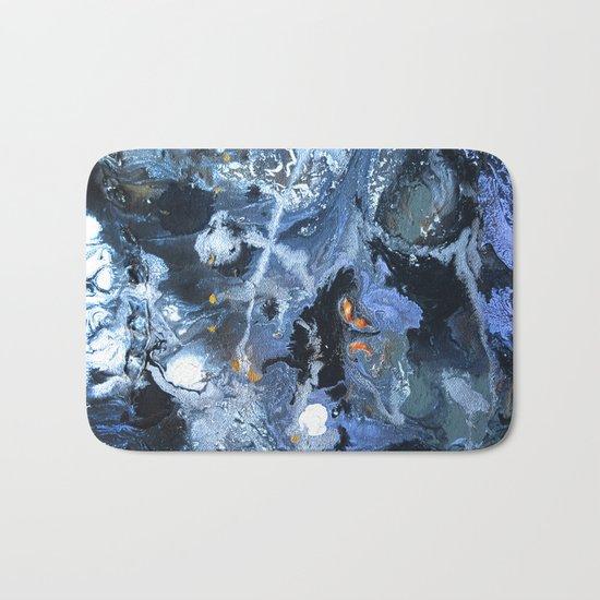 Lunar Surface Bath Mat