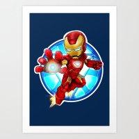 My Ironman Art Print