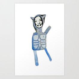 Rhinopotamus Art Print
