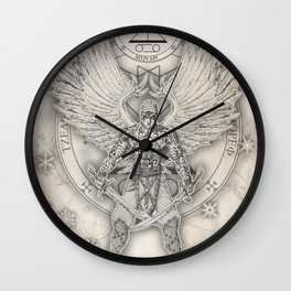 Archangel Raguel Wall Clock