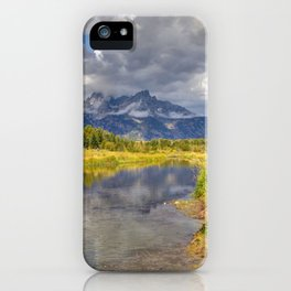 The Grand Tetons Panorama iPhone Case
