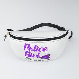 police girl but cooler Fanny Pack